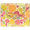 Alicia Klein Citrus Imagery Leather Envelope