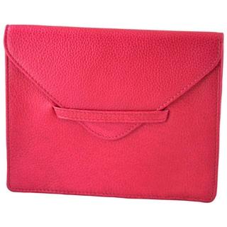 Alicia Klein Pink Leather Envelope