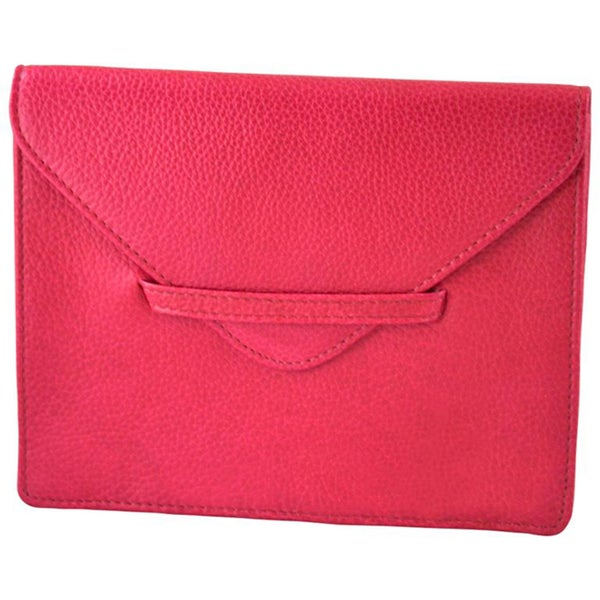Alicia Klein Pink Leather Envelope