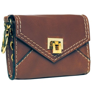 Alicia Klein Toffee Leather Crossbody Phone Case