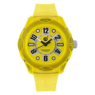 Tendence Women's Yellow Analog Watch