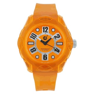 Tendence Women's Orange Analog Watch
