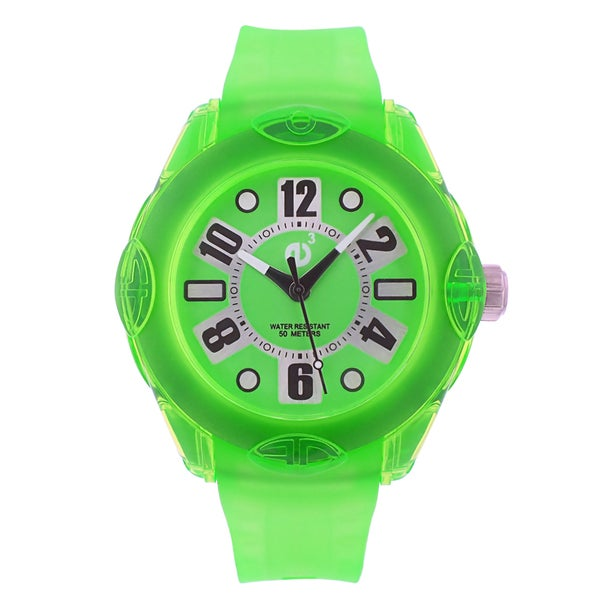 Tendence Women's Rainbow Green Watch