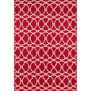 Moroccan Tile Indoor/ Outdoor Rug (7'10 x 10'10)
