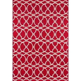 Moroccan Tile Indoor/ Outdoor Rug (7'10 x 10'10)