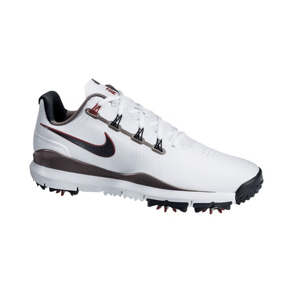 Nike Men's Black and White TW 2014 Golf Shoes