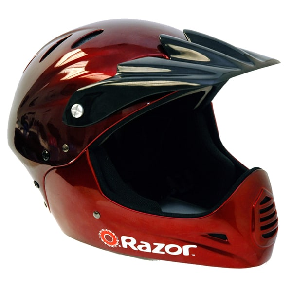 Razor Black Cherry Full Face Youth Helmet