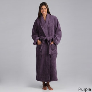 Salbakos Turkish Cotton Shawl Collar Ultra Thick Unisex Terry Robe
