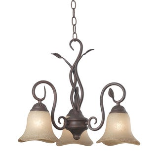 Bartram 3-light 21-inch Diameter Chandelier
