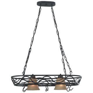 Northwoods 2-light Hanging Pot Rack