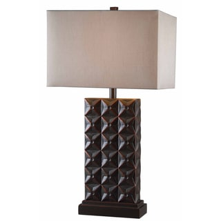 Greenock Bronze Table Lamp