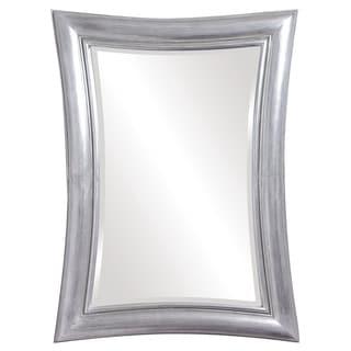 Freemont Rectangular Silver Mirror