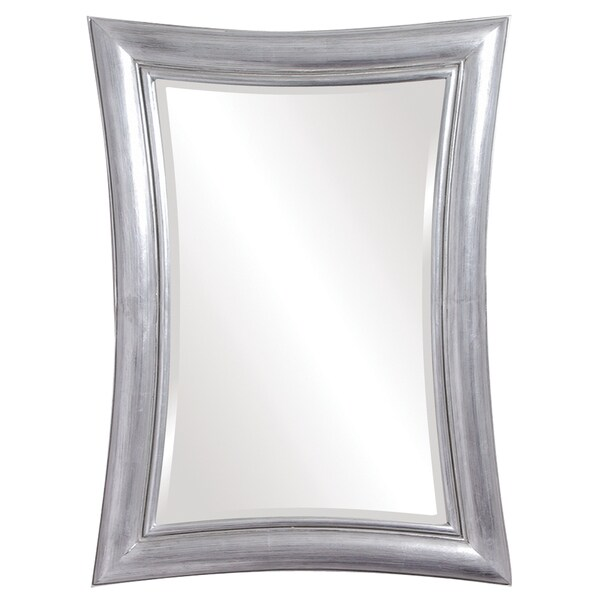 Freemont Rectangular Silver Mirror