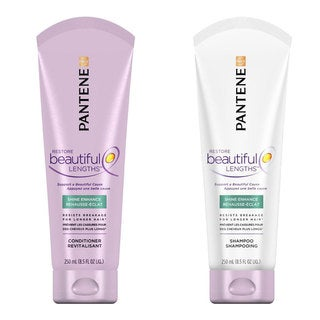 Pantene Pro-V Restore Beautiful Lengths Shine Enhance Shampoo and Conditioner