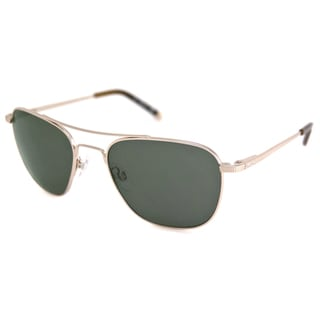 Kenneth Cole Men's/Unisex KC7022 Gold/Green Aviator Sunglasses