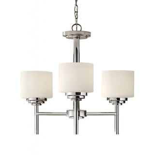 Malibu 3-light Polished Nickel Chandelier
