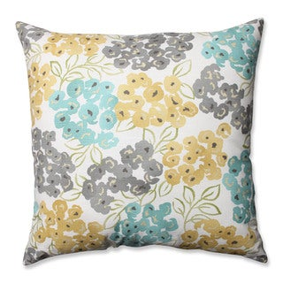 Pillow Perfect Luxury Floral Pool 24.5-inch Decorative Pillow