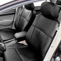 FH Group Custom Fit Black Leatherette 2006-2011 Honda Civic Seat Covers (Front Set)