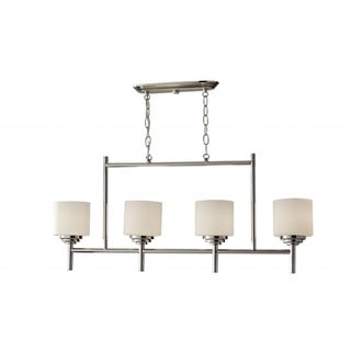 Malibu 4-light Polished Nickle Chandelier