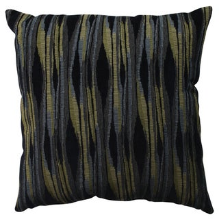 Pillow Perfect Kasuri Navy 23-inch Decorative Pillow
