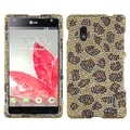 BasAcc Leopard Skin/ Camel Diamante Case for LG E970 Optimus G