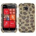 BasAcc Leopard Skin/ Camel Diamante Case for Nokia 822 Lumia 822