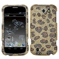 BasAcc Leopard Skin/ Camel Diamante Case for ZTE N9500 Flash