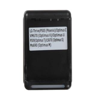 INSTEN Battery Charger for LG Optimus S/ T/ M/ U/ V/ Phoenix/ Thrive