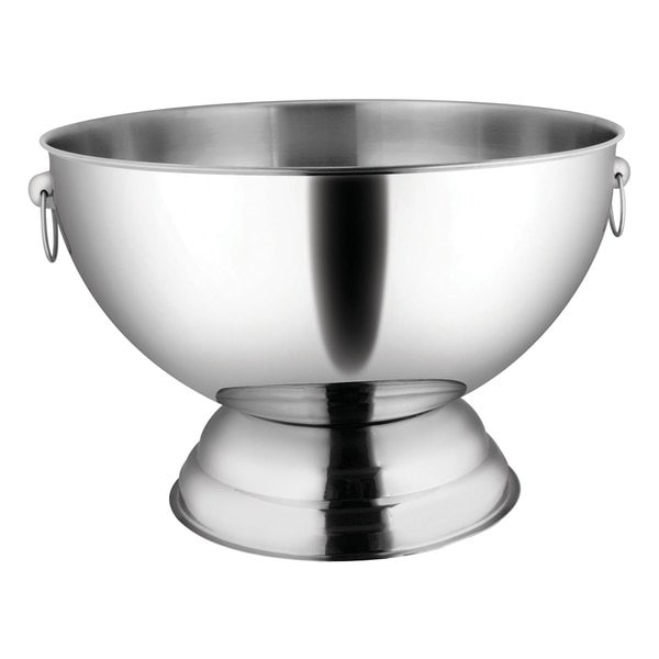 Winco 3.5-gallon Stainless Steel Punch Bowl
