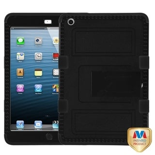 BasAcc Black/ Black TUFF Hybrid Case for Apple iPad Mini