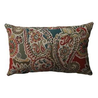 Pillow Perfect Piper Paisley Rectangular Throw Pillow