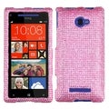 BasAcc Pink Diamante 2.0 Case for HTC Windows Phone 8X