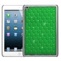 BasAcc Pearl Green Silver Lattice Diamond Case for Apple iPad Mini