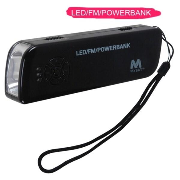 INSTEN LED/ FM 2000mAh Portable External Powerbank