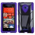BasAcc Purple Inverse Advanced Armor Stand Case HTC Windows Phone 8X