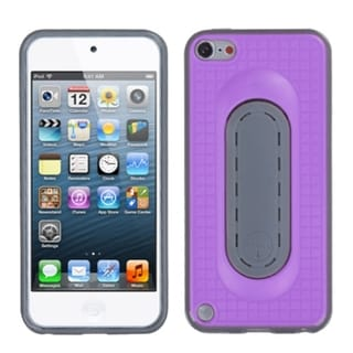 INSTEN Purple Snap Tail Stand iPod Case Cover for Apple iPod touch 5