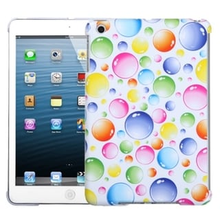 INSTEN Rainbow Bigger Bubbles Tablet Case Cover for Apple iPad Mini