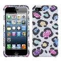 BasAcc Rainbow Classic Leopard Diamante for Apple iPhone 5