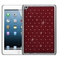 BasAcc Red/ Silver Lattice Diamond Case for Apple iPad Mini