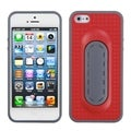 BasAcc Red Snap Tail Stand Case for Apple iPhone 5