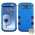 BasAcc Dark Blue/ Black TUFF Hybrid Case for Samsung Galaxy S3/ S III