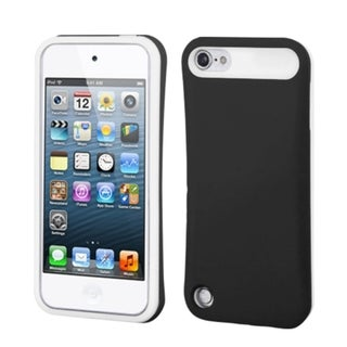 INSTEN Black/ White Card Wallet iPod Case Cover for Apple iPod Touch 5