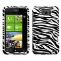 BasAcc Zebra Skin Case for HTC X310a TITAN