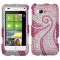 BasAcc Phoenix Tail Diamante Case for HTC Radar 4G