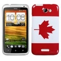 BasAcc Canada National Flag Case for HTC One X/ One X+