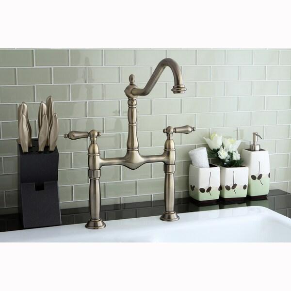Bridge Vintage Vessel Bathroom Faucet