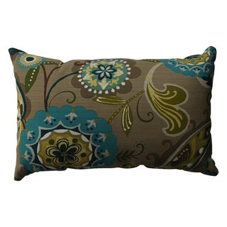 Pillow Perfect Merrimack Suzani Rectangular Throw Pillow