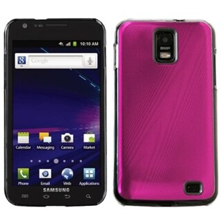 INSTEN Hot Pink Cosmo Phone Case Cover for Samsung I727 Galaxy S II Skyrocket