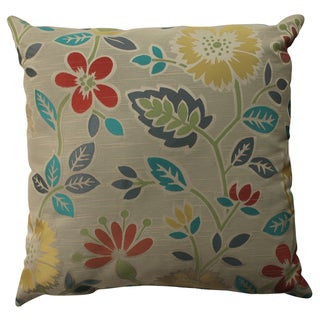 Pillow Perfect Floral Fiesta 23-inch Decorative Pillow