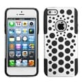 BasAcc White/ Black Dots Advanced Armor Case for Apple iPhone 5